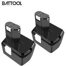 Battool recarregável para carros, bateria recarregável para carros 14v/14.4v, 3000mah, 324367 mah, eb1414s, eb1412s,, eb14s, ds14dl dv14dl batedor cj14dl