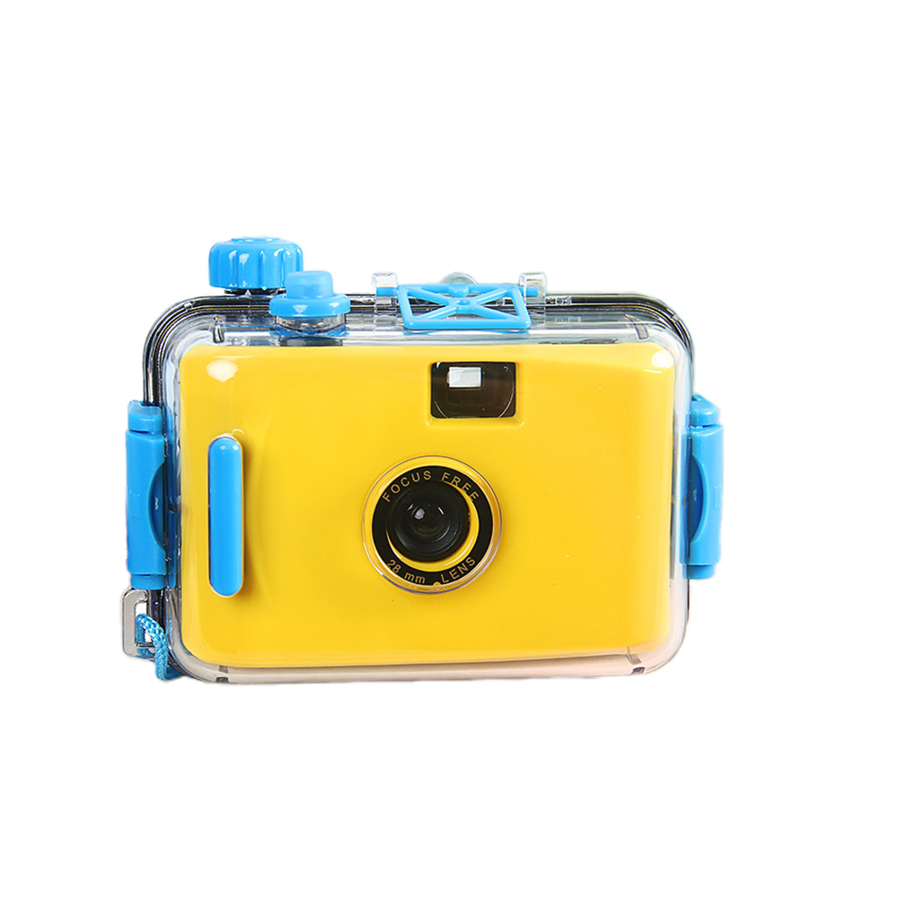 Birthday Gift For Snorkeling Cute Fashion Mini Photography Waterproof Digital With Housing Case Camera Durable Film Underwater