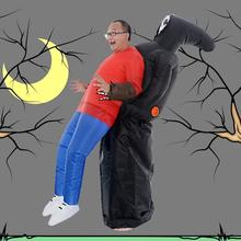Inflatable Grim Reaper Costume For Halloween Funny Holidays Battery Operated One Size Fits Most Adults