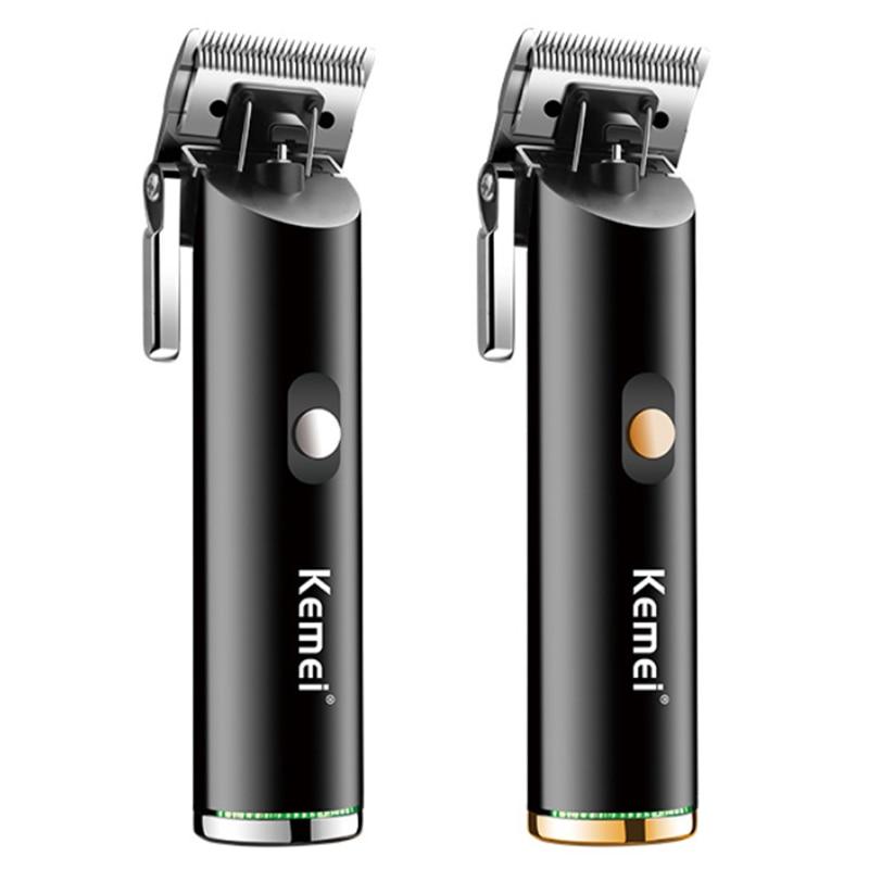 barber shop all metal hair clipper cord cordless hair trimmer professional rechargeable electric hair cutting machine haircut Hair Trimmers  - AliExpress