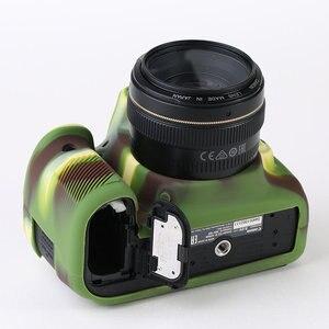 Image 5 - סיליקון שריון עור מקרה גוף כיסוי מגן עבור Canon EOS 90D DSLR מצלמה