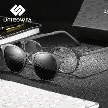 Retro Round Magnet Clip on Sunglasses Men Polarized UV400 Optical Sun Glasses For Women Vintage Prescription Glasses Male Brand