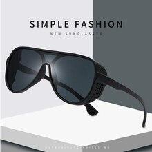MIZHO Minus Reflection Effects Pilot Goggle Unisex Tony Star Sunglasses Men Steampunk Designer Punk Sun Glasses Women Mirro 2020
