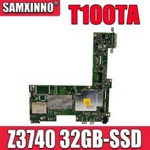 T100TA 1.33GHz  Z3740 CPU 32GB Mainboard For ASUS T100T T100TA Laptop Motherboard 60NB0450-MB1070 100% Tested Free Shipping