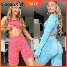 Спортивный комплект спортивный костюм для женщин одежда фитнеса