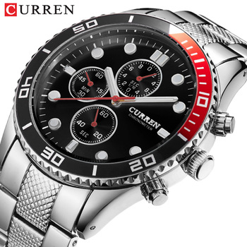 CURREN 2020 casual Elegant Quartz Steel Watch Mens Wristwatches With Black Gift For Men orologio uomo Time relogio masculino