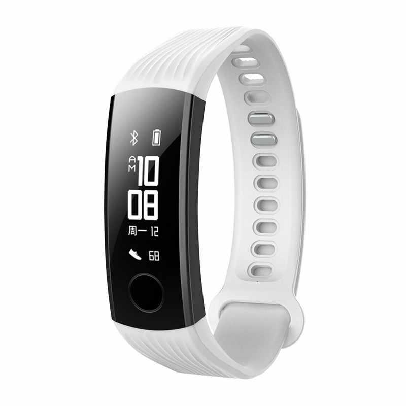 Pasek do Huawei Honor 3 część wymienna inteligentnego zegarka pasek do bransoletki zespół do honoru 3 zespół z Repair Tool regulowane akcesoria