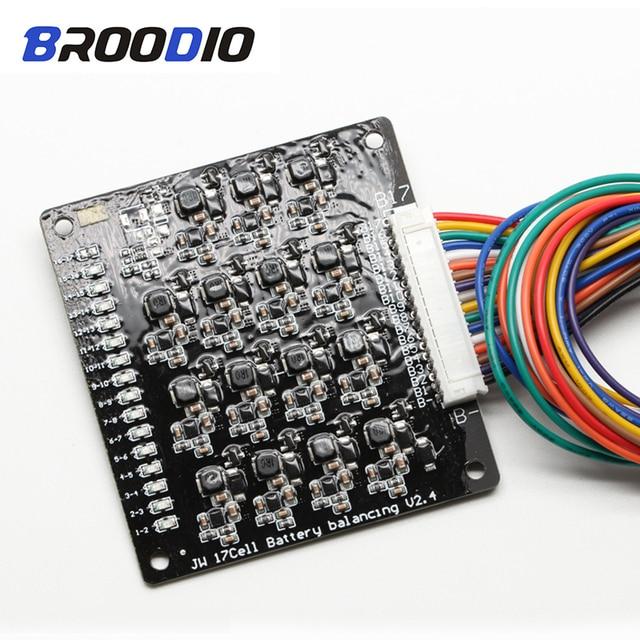 16S BMS 1,2 EINE Balance Li Ion Lipo Lifepo4 LTO Lithium Batterie Aktive Equalizer Balancer Energie Transfer BMS 16S