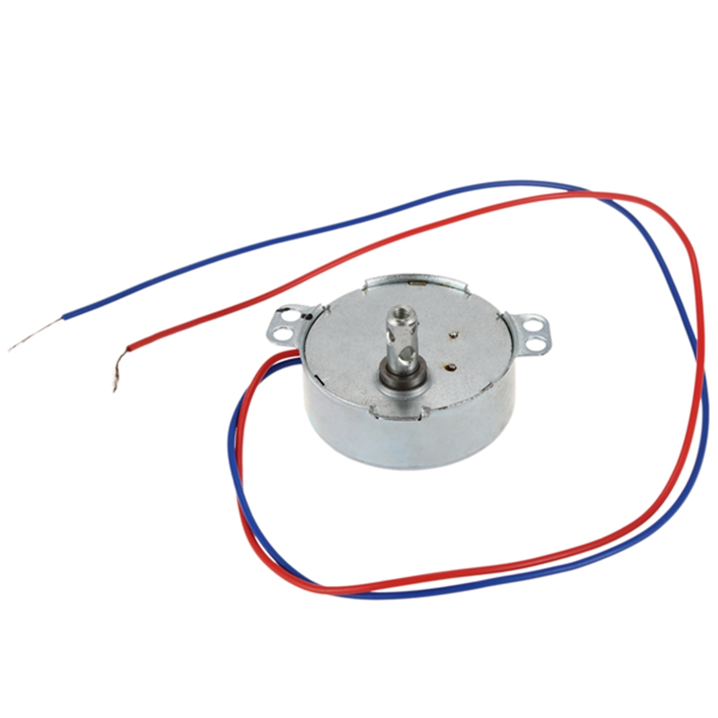 AC 220V-240V 4W 3RPM CCW//CW 20mm Thickness AC Synchronous Motor