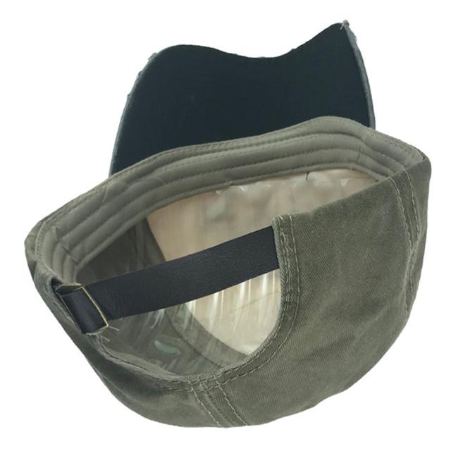 Gorra de béisbol Snapback bordado carta ajustado para hombres mujeres