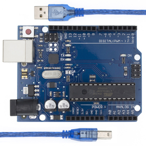 Image 1 - 10 set x development Board Compatible wth UNO R3 MEGA328P ATMEGA16U2 + USB Cable