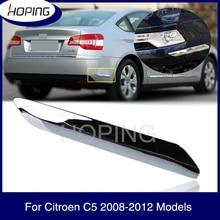 Hoping Front Rear Bumper Garnish Strip Anti-scratch Decoration Strip Trim Chrome Cover For Citroen C5 2008 2009 2010 2011 2012