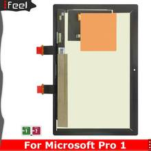 High Quality Tested 10.6 Inch For Microsoft Surface Pro 1 Pro2 1514 1601 LCD Display Touch Screen Digitizer Assembly replacement