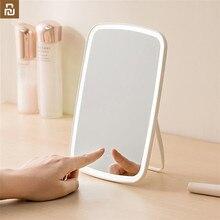 Original Youpin Jordan judy Intelligent portable makeup mirror desktop led light portable folding light mirror dormitory desktop
