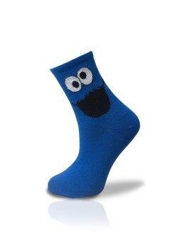 Blue Smiley Smiley Socks Unisex 36 42