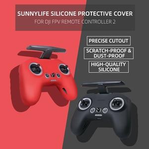 Image 2 - Siliconen Cover Skin Case Voor Dji Fpv Afstandsbediening 2 Non Slip Rubber Beschermhoes Protector