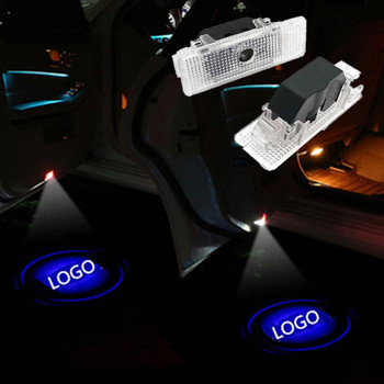 2pcs Car Led Door Welcome Light Laser Ghost Shadow Projector Logo Door Lamp For BMW E39 E53 X5 E52 Z8 528i