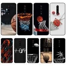 Basketbal Ketting Telefoon Case Voor Xiaomi Note 10 Pro 9 Coque Siliconen Cover Voor Redmi Note 9S 8