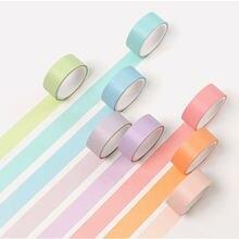 Творческий 12 Цветов набор маскировочной клейкой ленты скотч