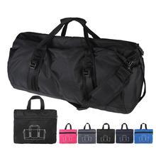Fashion Nylon Travel Bag Large Capacity Vintage Luggage