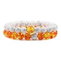 8mm white amber