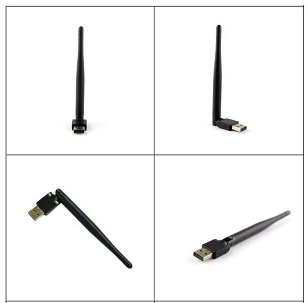 Wireless Computer Network Card Mini PC WiFi Adapter 150M USB WiFi Antenna  802.11n/g/b LAN+Antenna Wi-fi Adapters Wifi Receiver