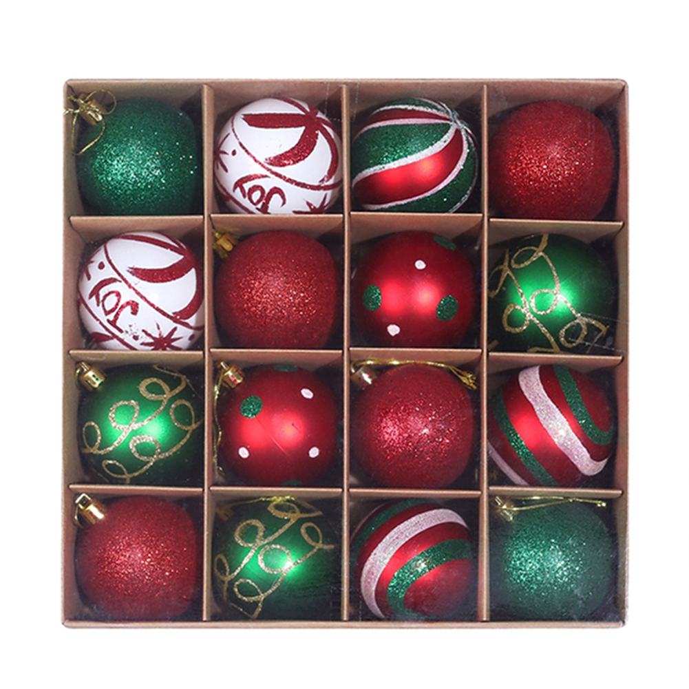 16 x Christmas Tree Baubles 13