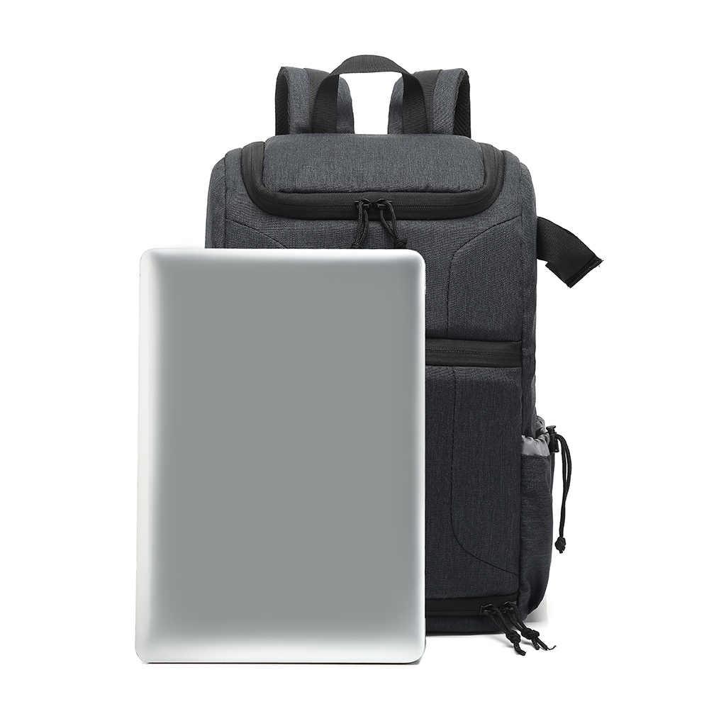 Bolsa impermeable para cámara, mochila para cámaras fotográficas, para Canon, Nikon, Sony, Xiaomi, portátil, DSLR, bolsa de viaje para lente de trípode, bolsa de vídeo