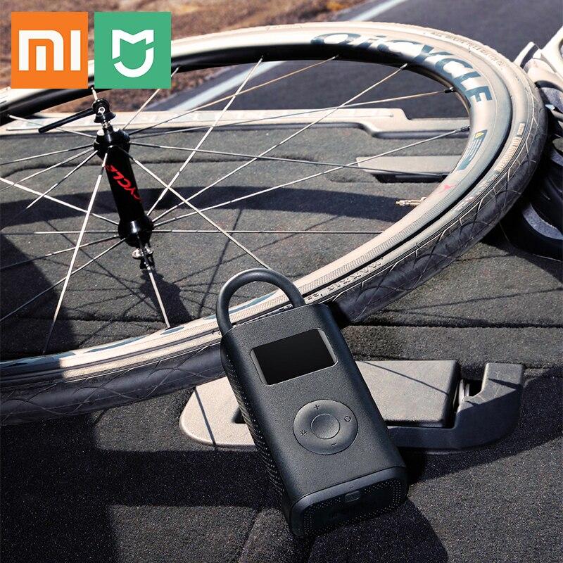 Xiao mi mi jia gonfleur pression moniteur numérique MJCQB01QJ pneu Portable multi-buse pour football vélo voiture mi pompe électrique