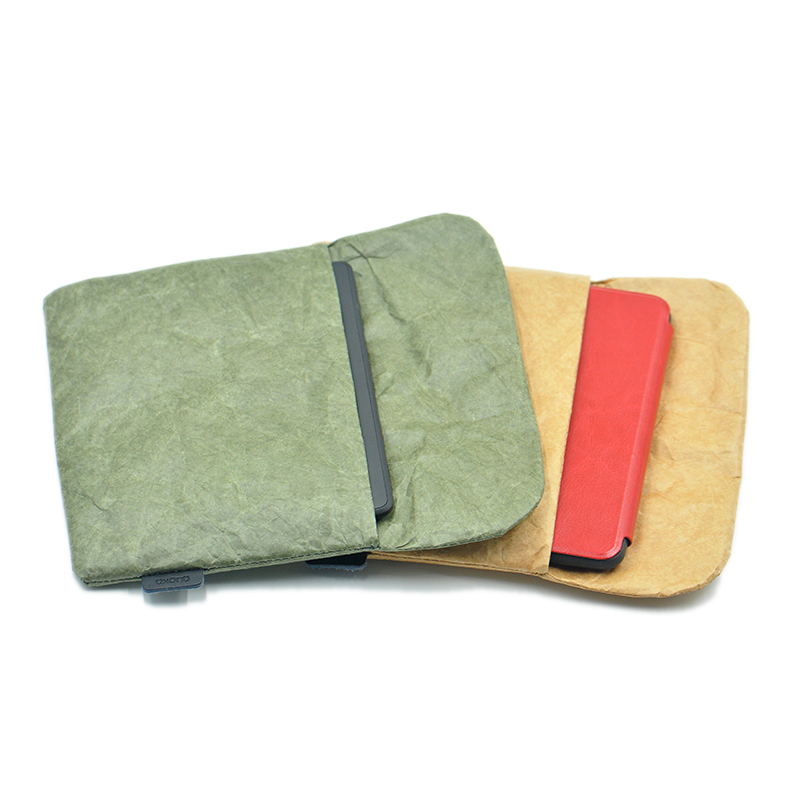 """Vintage old style Laptop Bag cover,Tyvek fiber paper 6"""" E-Reader sleeve case for Kindle Paperwhite Voyage Touch 6inch"""