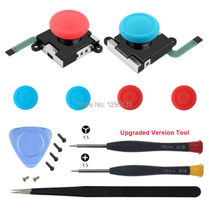 Image 4 - 3D Analog Thumb Stick for Nintend Switch NS Joy Con Joystick Caps Replacement Repair Parts Mod Kit for JoyCon Switch Controller