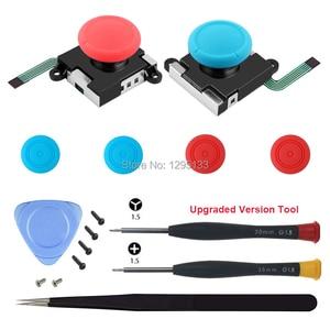 Image 4 - 3D analogowy kciuk kij na przełącznik do nintendo dla Joy Con Joystick czapki wymiana części naprawa zestaw z modem dla JoyCon przełącznik sterowanie