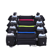 купить Fashion Sports Bottle Pockets Waterproof Anti-Theft Mobile Phone Bag Men And Women Close Invisible Multifunctional Marathon Belt онлайн