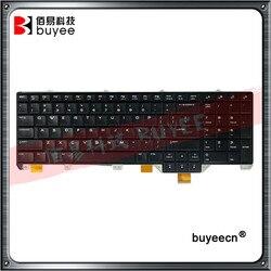 Oryginalne czarne klawiatura amerykańska z podświetleniem dla DELL Alienware ALW17 17 R5 wymiana klawiatury laptopa