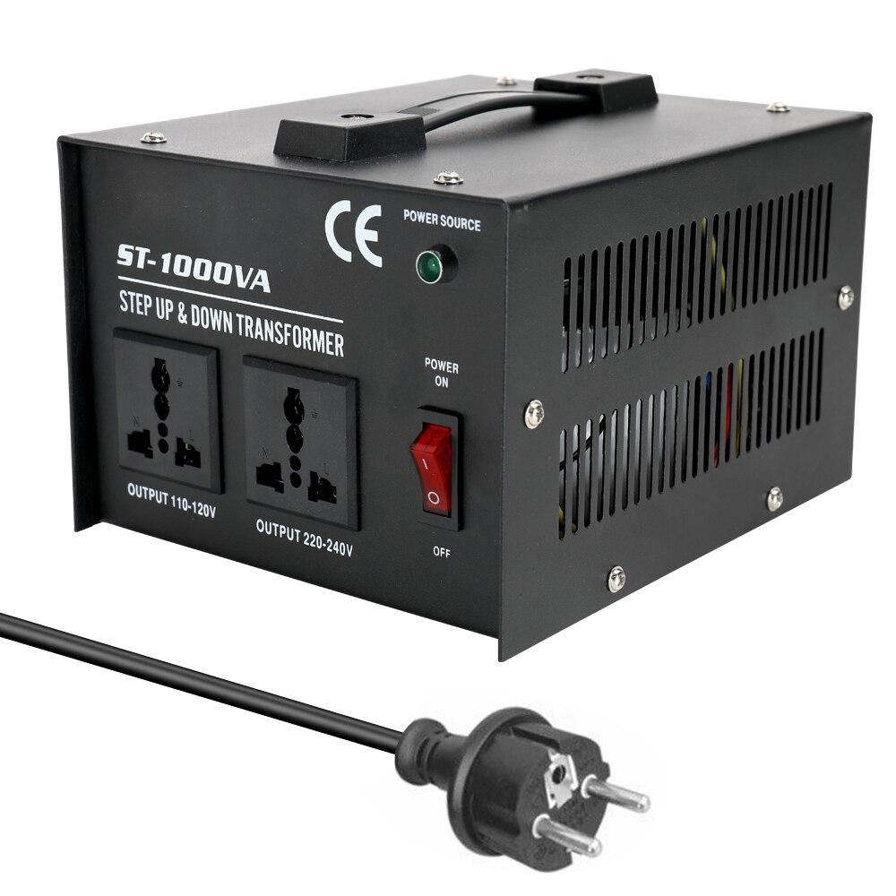 Intelligente Effiziente Step Up Transformator ST-100 0W Home-verwenden 100 V-220V Transformator Elektrische Appliance Spannung konverter