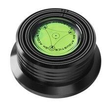 3In1 поворотный стол металла запись зажим Lp диск стабилизатор Универсальный 50/60Hz аудио виниловый диск Алюминий Вес с Тесты Скорость пузырь