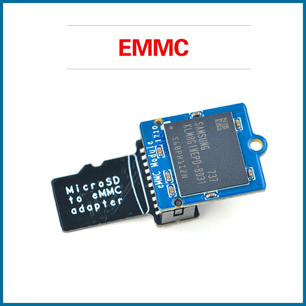 S ROBOT EMMC Module 8GB 16GB 32GB 64GB With MicroSD Turn EMMC Adapter T2