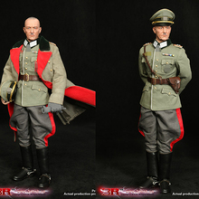1/6 soldier model World War II Army Marshal Karl Lundstadt GM643 World War II German General General movable doll toy in stock цена 2017