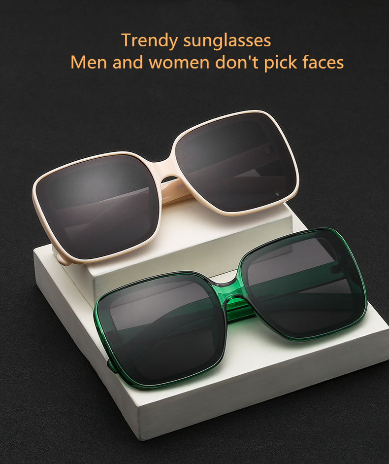 Купить новинка 2020 модные солнцезащитные очки женские оверсайз квадратные