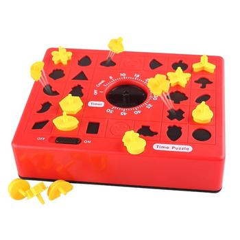 Children Fun Board Games Timing Time Matching Puzzle for Early Education Parent-Child Educational Toys for Boy Gifts tanie i dobre opinie mishatoys CN (pochodzenie) no eat Certyfikat europejski (CE) 8 ~ 13 Lat 2-4 lata 5-7 lat Zwierzęta i Natura Time puzzle
