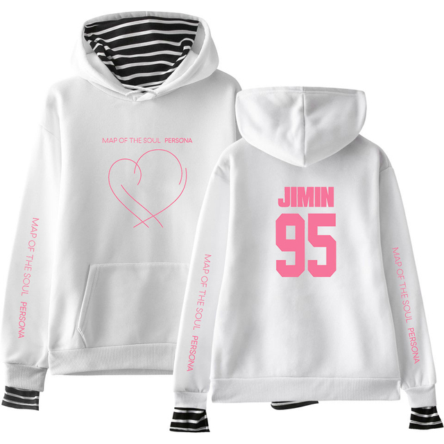 MAP OF THE SOUL PERSONA STRIPED HOODIE (28 VARIAN)