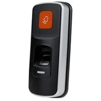 RFID X660 Sidik Jari Menggesek Mesin Akses Kontrol Sidik Jari Pembaca Kartu SD Transfer Data Sempit Controller Pembuka Pintu Suppor