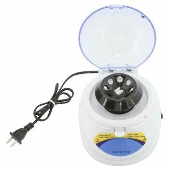 Mini 4K Professional Microcentrifuge Electric Centrifuge Mini Medical Laboratory Centrifuge 4000Rpm,US Plug