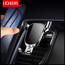 Licheers Gravity Car Phone Holder For iPhone x xs Air Vent M