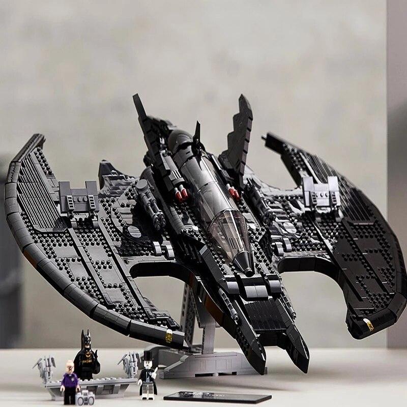 2363 шт. DC серии «летучая мышь» блоки маленького размера Идущие вместе с 76161 модель конструкторных блоков, Детские кубики детские игрушки «сде...