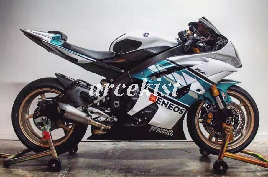 הזרקת עובש חדש ABS ערכת מעטפת אופנוע ימאהה YZF-R6 2006 2007 06 07 R6 להריון ולידה סט ENEOS מותאם אישית