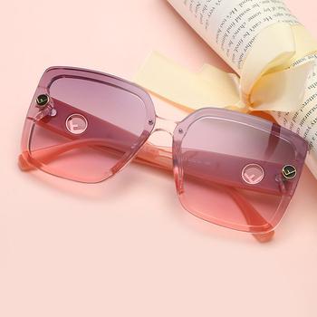 Męskie kwadratowe szkła okulary przeciwsłoneczne moda klasyczne wszystkie mecze okulary przeciwsłoneczne UV400 spersonalizowane okulary damskie okulary odblaskowe tanie i dobre opinie Anti-glare Polaryzacja Anti-Fog Anty-uv Pyłoszczelna Ochrona przed promieniowaniem Adult