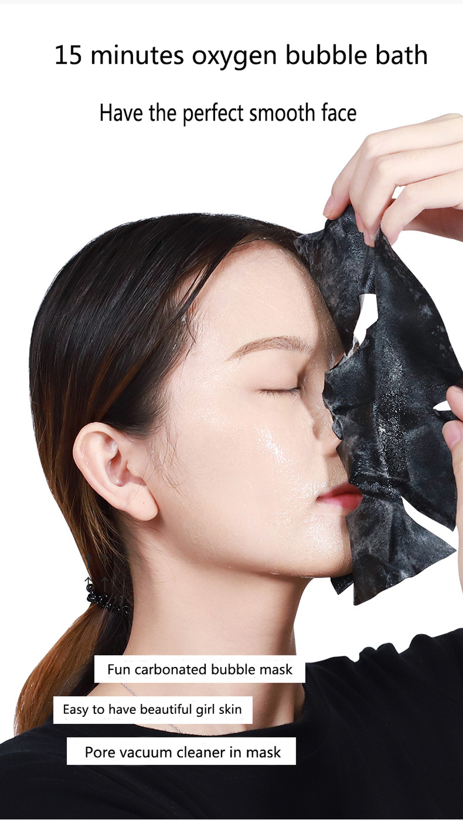 Clean Skin Amino Acid Charcoal Bubble Mask