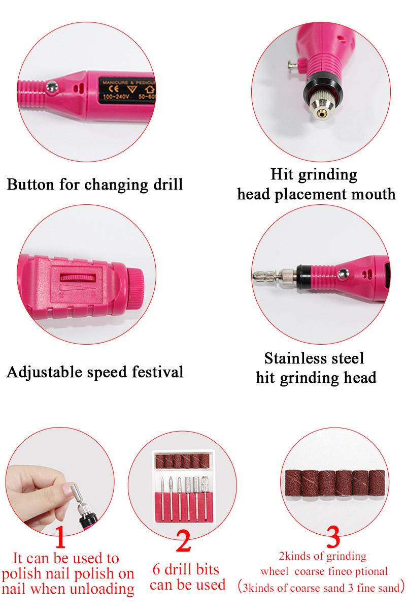 Options for the polish machine