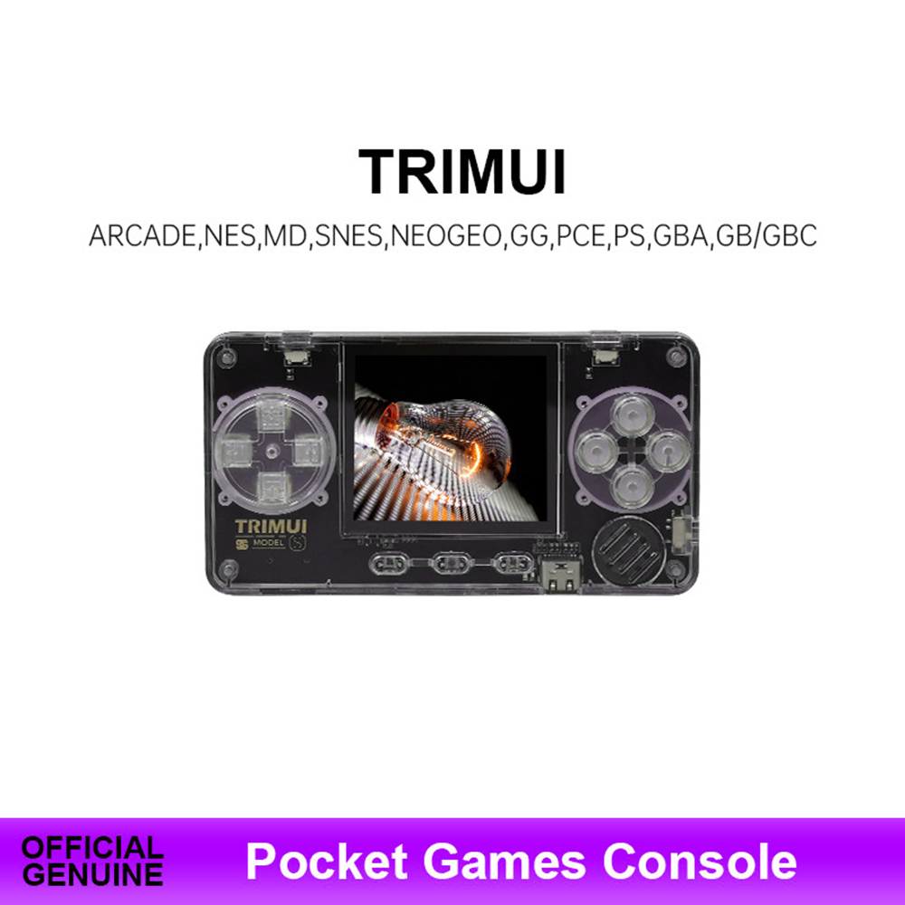 TRIMUI Retro Game Console Ultra-Small Mini Portable Metal Shell Video Game Console Children gifts Game Player